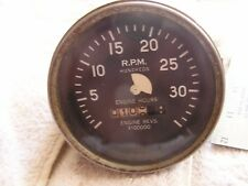Vintage Tachometer with Revs