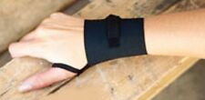 2 NEW UNIVERSAL INDUSTRIAL WRIST SUPPORT BRACE W/ LOOP BLACK ONE SIZE FREE SHIP