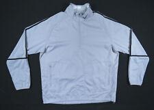 Nike Golf Mens Light Gray 1/4 Zip Windbreaker Wind Shirt Pullover Jacket XL NWOT