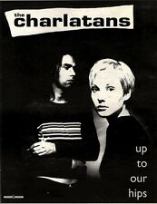 """NEWSPAPER CLIPPING/ADVERT 26/3/94PGN60 15X11"""" THE CHARLATANS : UP TO OUR HIPS"""