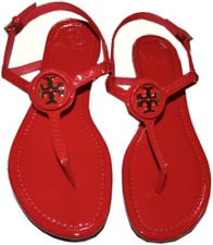 Tory Burch Dillan Sandal Orange/gold 9M - MSRP $225