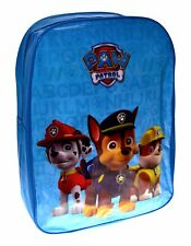 Paw Patrol 'Rescue Squad' Boys Junior School Bag Rucksack Backpack Brand New