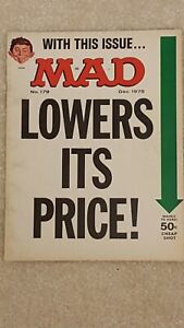 Lot of 4 vintage Mad Magazines from 75/76