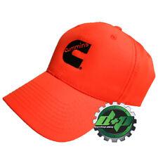 98f1ba06bf1e6 Cummins ball cap Dodge camo blaze orange hunter trucker hat cumming diesel  gear