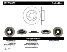 StopTech Rear Right Disc Brake Rotor for 98-16 Volkswagen Golf / Audi A3 / Seat