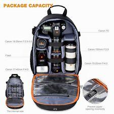 Women's DSLR Camera Backpack Bag Insert Case Travel Backpack fr Canon Nikon Sony