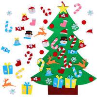 Kids DIY Felt Christmas Tree Ornaments Xmas Gift Wall Hanging Home Decor