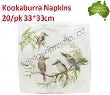 Kookaburra Napkins Luncheon paper Napkin 3ply Flower wedding Party Serviette NEW