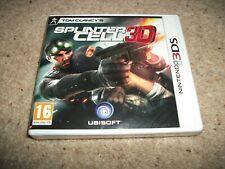 Tom Clancy's Splinter Cell 3D (Nintendo 3DS, 2011) NEW & SEALED