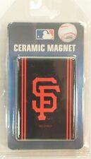 San Francisco Giants MLB Boelter Brands Black Orange Ceramic Refrigerator Magnet