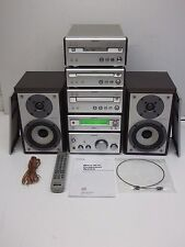 Sony CMT-SP55MD Component System Amp Tuner Tape Mini Disc CD + Speakers