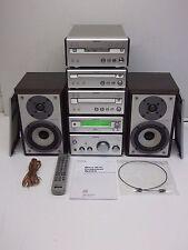 Sony CMT-SP55MD Componente del sistema AMP sintonizzatore NASTRO MINI DISC CD + ALTOPARLANTI