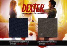 Dexter Season 5&6 Dual Costume Relic DC5