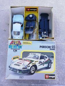 Burago Die Cast Metal Kit Porsche 911 Armel cod.5102 da montare o per ricambi