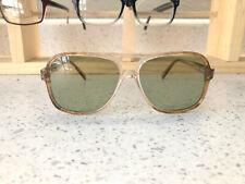 Stunning! Vintage 70's Men's Double Bridged Aviator Sunglasses Lot of 2