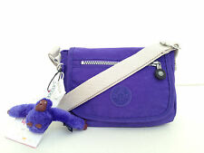 BNEW Authentic KIPLING Sabian AC7240 Crossbody Sling Bag Ice Pop Purple FreeShip