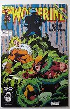 Wolverine #46 1991 (C5545) Sabretooth Lady Deathstrike Jubilee Marvel Comics