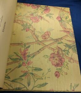 1 Wallpaper Sample Book Schumacher Pacifica 17 x 13.5 inch 92 Pages