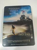 Drapeaux de Our Parents Cartes Partir Iwo Jima Clint Eastwood Tin Box DVD Am