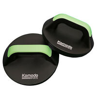 Komodo Rotating Push Up Handles Press Up Stands Grips Bars Home Gym Fitness Bars
