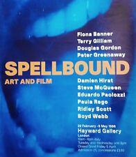 SPELLBOUND Art and Film Poster Gilliam Hirst McQueen Paolozzi Rego Ridley Scott