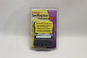 Franklin Spelling Ace With Thesaurus SA-206 package damaged