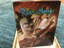 Rick and Morty: Season 3 Best Buy Exclusive Steelbook (Blu-Ray)+ Digital