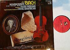 Bach Violinkonzerte Violin Concertos Perlman Barenboim LP EMI NM
