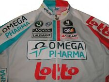 Omega Pharma Cycling Jersey Vermarc Lotto aee8a7499