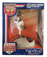 1995 Randy Johnson Limited Edition Starting Lineup Stadium Stars Figure Kingdome