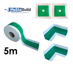 5m Waterproof Tape 2x inner Corner Joints 2x Pipe Collars Chemical Resistant