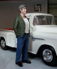 70`s hombre Klaus figura figuras controlador 1 24 American diorama (VII) N º Car