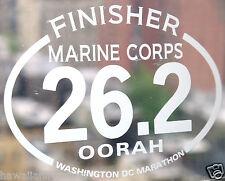 2019 any year Marine Corps Marathon D.C.Finisher Decal iPad,Luggage,Suit case