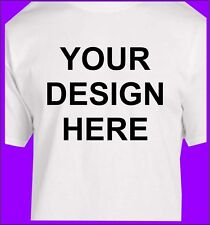CUSTOM, YOUR DESIGN, LOGO, COMPANY NAME T-SHIRT PICTURES TEAMS 2 LOCATIONS