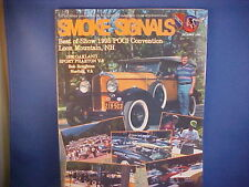 1930 Oakland,1965 Bonneville, Convention issue--Smoke Signals October 1995 10/95