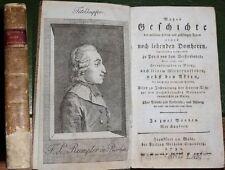Rumpler de Rorbach : Wahre Geschichte Domherrn : 1700 :  Bd. 1 : Sehr Selten !!