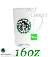"star185 16oz starbucks SIREN MERMAID ""old logo"" ceramic cup mug"