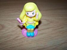 Strawberry Shortcake Lemon Meringue PVC Toy Doll McDonald's 2011 #4 Hair Salon