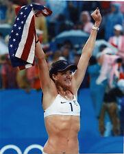 KERRI WALSH USA OLYMPIC VOLLEYBALL 8X10 SPORTS PHOTO (S-1)