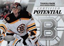 2010-11 Certified Potential #15 Tuukka Rask Bruins /500