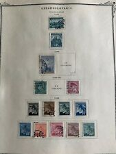 TCStamps 12 Pages 1938-50 CZECHOSLOVAKIA Postage Stamps Quality Scott Album #658