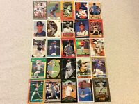 HALL OF FAME Baseball Card Lot 1979-2020 WILLIE MAYS KEN GRIFFEY JR. STAN MUSIAL