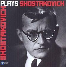 SHOSTAKOVICH Plays Shostakovich 2CD BRAND NEW Piano Concertos Cello Sonata