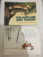 Two Books Of A Calvin and Hobbes Collection by Bill Watterson