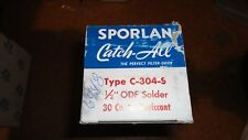 "SPORLAN CATCH ALL FILTER DRIER C-304-S 1/2"" ODF SOLDER"
