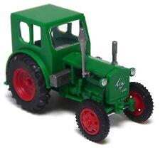H0 BUSCH Mehlhose Traktor Schlepper Radtraktor Pionier RS 01/40 grün # 210006400