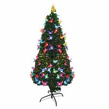 4ft-120cm Christmas tree Fiber Optic Pre-Lit xmas tree with Butterfly LED Lights