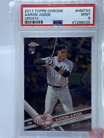 2017 TOPPS CHROME UPDATE #HMT50 AARON JUDGE RC PSA 9 New York Yankees Rookie