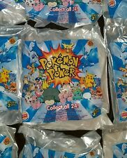 Pokemon 3D Power Card Burger King Kids Meal Toy 2000 New Sealed Pokemon Power