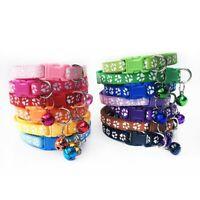 12PCS/Lot Dog Collars Pet Cat Puppy Buckle Belt Strap Nylon Collar Mbyss Cnsdm